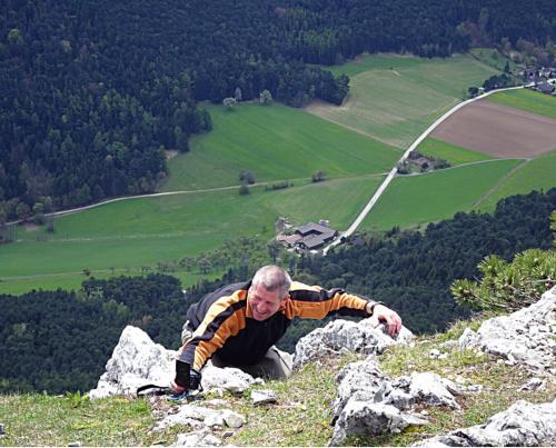 Klettersteig Hohe Wand : Hohe wand htl klettersteig d e völlerin steig a